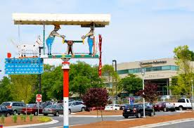 Whirligig at Wesley Long - Greensboro Daily Photo