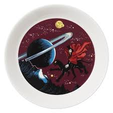 The Hobgoblin plate by Arabia – The Official Moomin Shop
