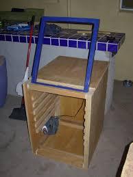 diy exposure unit and screen drying box