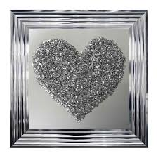 heart silver art pictures