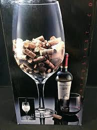 wine glass decoration cork holder giant