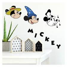 Mickey Mouse Giant Wall Decals Contemporary Wall Decals By Shopladder