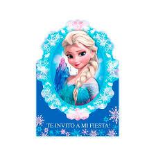 Invitacion Sobre Diseno Frozen X8 Sempertex Jumbo Colombia