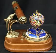 art glass globe box
