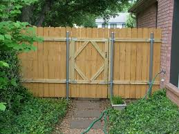 Wood Fence Gate Project In Leander Tx Alltech Construction