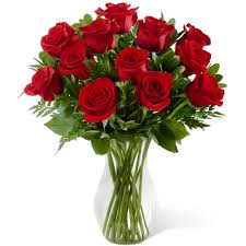 red roses birthday flowers toronto