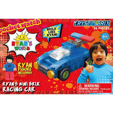 ryan s world mini brix racing car
