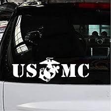 Military U S M C Marine Corps Vinyl Decal Car Truck Window Sticker