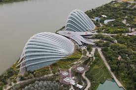 flower dome and cloud forest