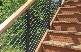 Aluminum Cable Railing Systems Direct Metal Posts For Deck Home Elements And Style Handrail Railingworks Architectural Railings Hansen Easy Crismatec Com