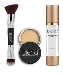 natural beige three piece makeup set
