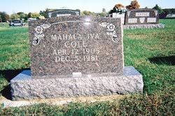 Mahala Iva Cole (1905-1981) - Find A Grave Memorial