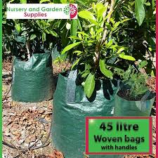 45 litre woven planter bag tree bag
