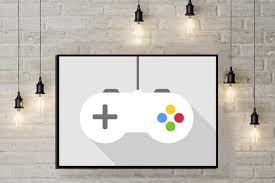 Game Console Poster Game Controller Playstation Poster Boys Etsy