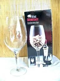 oversized wine glass decoration orloc me