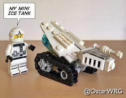 LEGO #Ninjago #Zane #Mini #Ice #Tank #IceTank #Shinobi #Shozoku ...