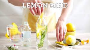 lemon rosemary vinegar cleaner you
