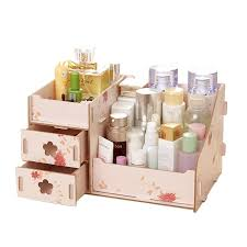 2020 new wooden cosmetic storage box