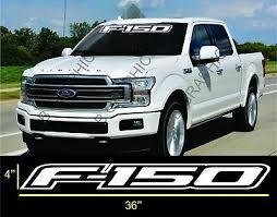 Ford F 150 Windshield Window Vinyl Decal Sticker Custom Vehicle Logo 13 99 Picclick