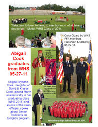 Tinney Chapel Today: Abigail Cook Graduates From Winnsboro High School