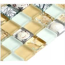 resin shell le crystal tile backsplash