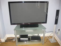 matching glass tv stand coffee table