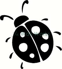 Lady Bug Wall Sticker Vinyl Decal The Wall Works