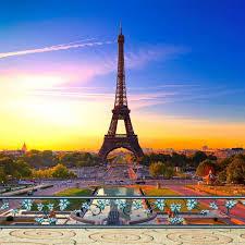 باريس برج ايفل التصوير الفوتوغرافي خلفية جميلة منظر