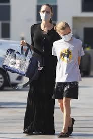 Angelina Jolie Los Angeles July 20, 2020 – Star Style