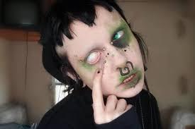 ultra goth looks using dead bugs