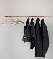 floating clothing rack