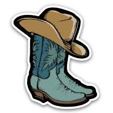 Cowboy Boots 3 Vinyl Sticker For Car Laptop Water Bottle Phone Waterproof Decal Walmart Com Walmart Com