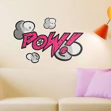Pow Comic Book Wall Sticker
