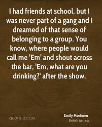 emily mortimer quotes quotehd