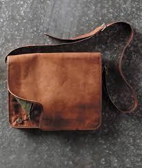 distressed leather messenger bag 13