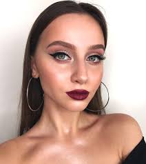 night makeup looks for brown eyes cat