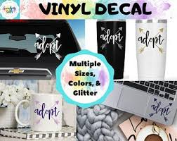 Foster Love Circle Vinyl Decal Car Decal Cup Decal Foster Etsy