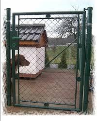 China Powder Coated Chain Link Wire Mesh Garden Fence Gate China Garden Fence Gate And Fence Gate Price