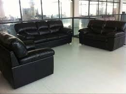black leather sofa leather seat cushion