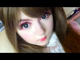 anese barbie makeup licca chan doll