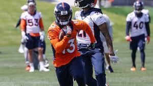 Broncos waive WR Aaron Burbridge