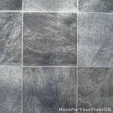 grey stone tile vinyl flooring