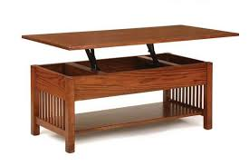 rectangular coffee table with lift top