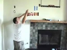 tv above fireplace pt 7 install cables