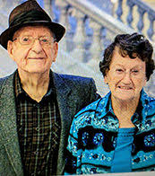 Happy 75th Anniversary!: Addie Hall Blodgett and Earl Blodgett ...