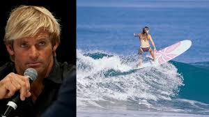 Big wave surfer Laird Hamilton claims surfing on your period puts ...