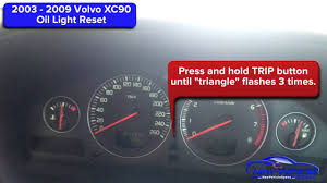 volvo xc90 check engine light reset