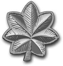Amazon Com Us Army Lieutenant Colonel Rank Insignia Vinyl Transfer Decal Sticker 3 8 6 Pack Automotive