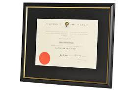 otago graduate degree frame plain matte