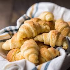 homemade crescent rolls baking a moment